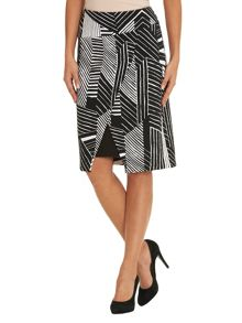 Betty Barclay Graphic printed skirt
