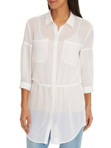 Betty Barclay Long drawstring blouse