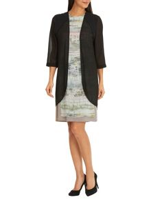 Betty Barclay Sheer blouse with three-quarter sleeves