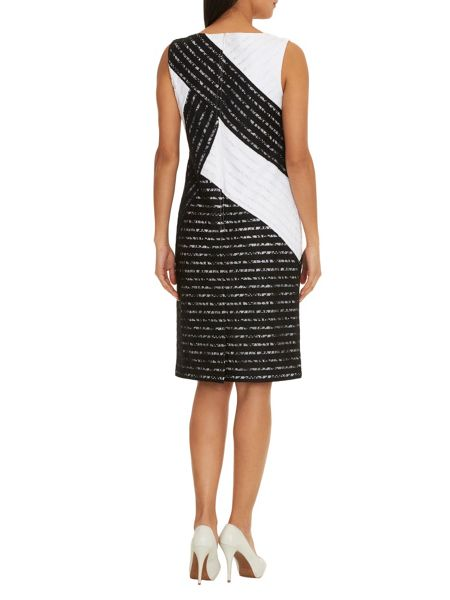Betty Barclay Monochrome lace shift dress