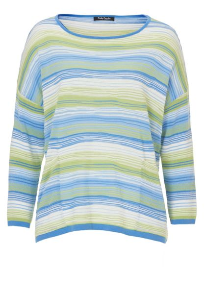Betty Barclay Candy stripe oversized jumper