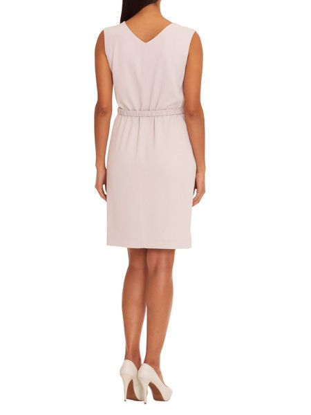 Vera Mont Textured shift dress with belt