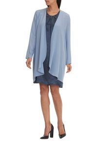 Vera Mont Unlined silk dress coat