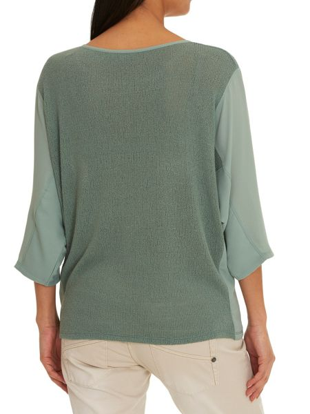 Betty & Co. Three-Quarter Sleeve Knit Top