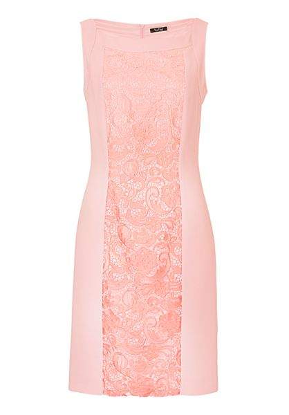 Vera Mont Crêpe and lace shift dress