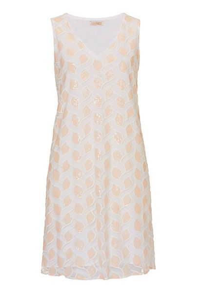 Vera Mont Sequinned V-neck dress