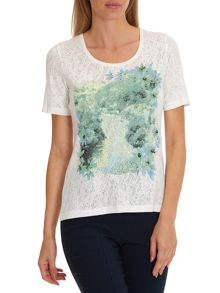 Betty Barclay Embellished short sleeved top