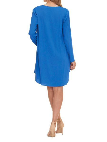 Vera Mont Dress coat with cascade front