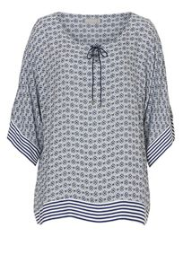Betty & Co. Graphic print top
