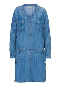 Betty & Co. Denim drop-waisted dress