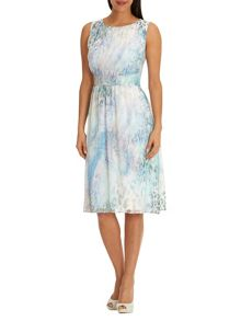 Betty Barclay Printed chiffon dress