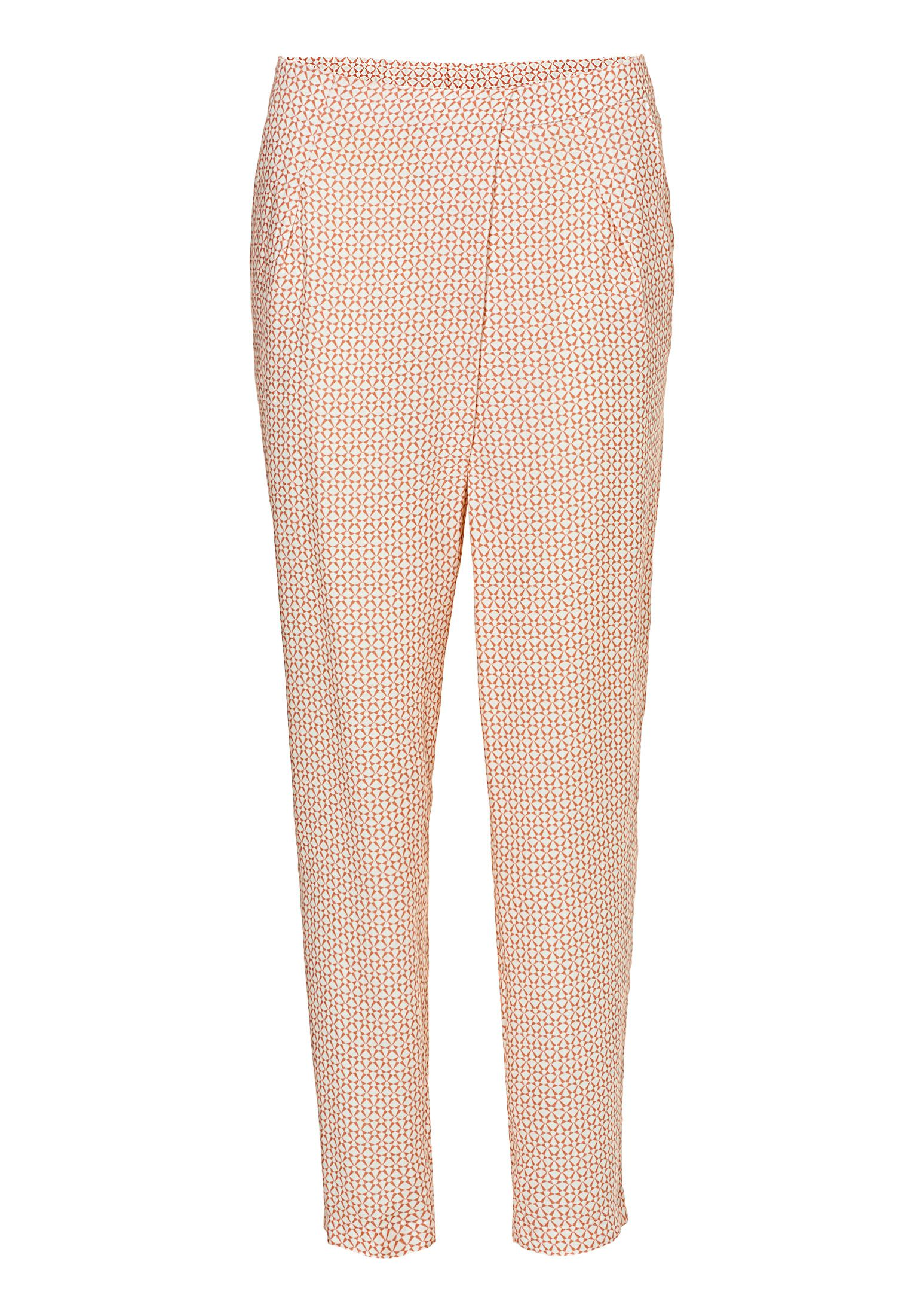 Betty & Co. Printed trousers, Pink