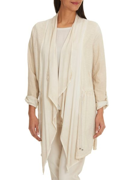 Betty & Co. Long Cotton Cardigan