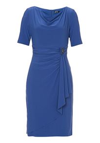 Vera Mont Jersey dress with buckle