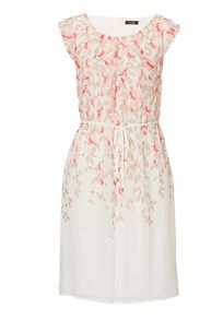 Vera Mont Printed chiffon dress