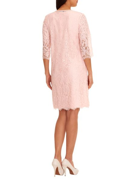 Vera Mont Lace dress coat