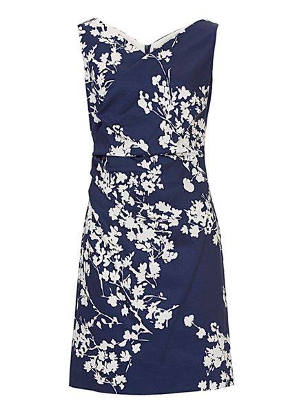 Vera Mont V-neck printed dress