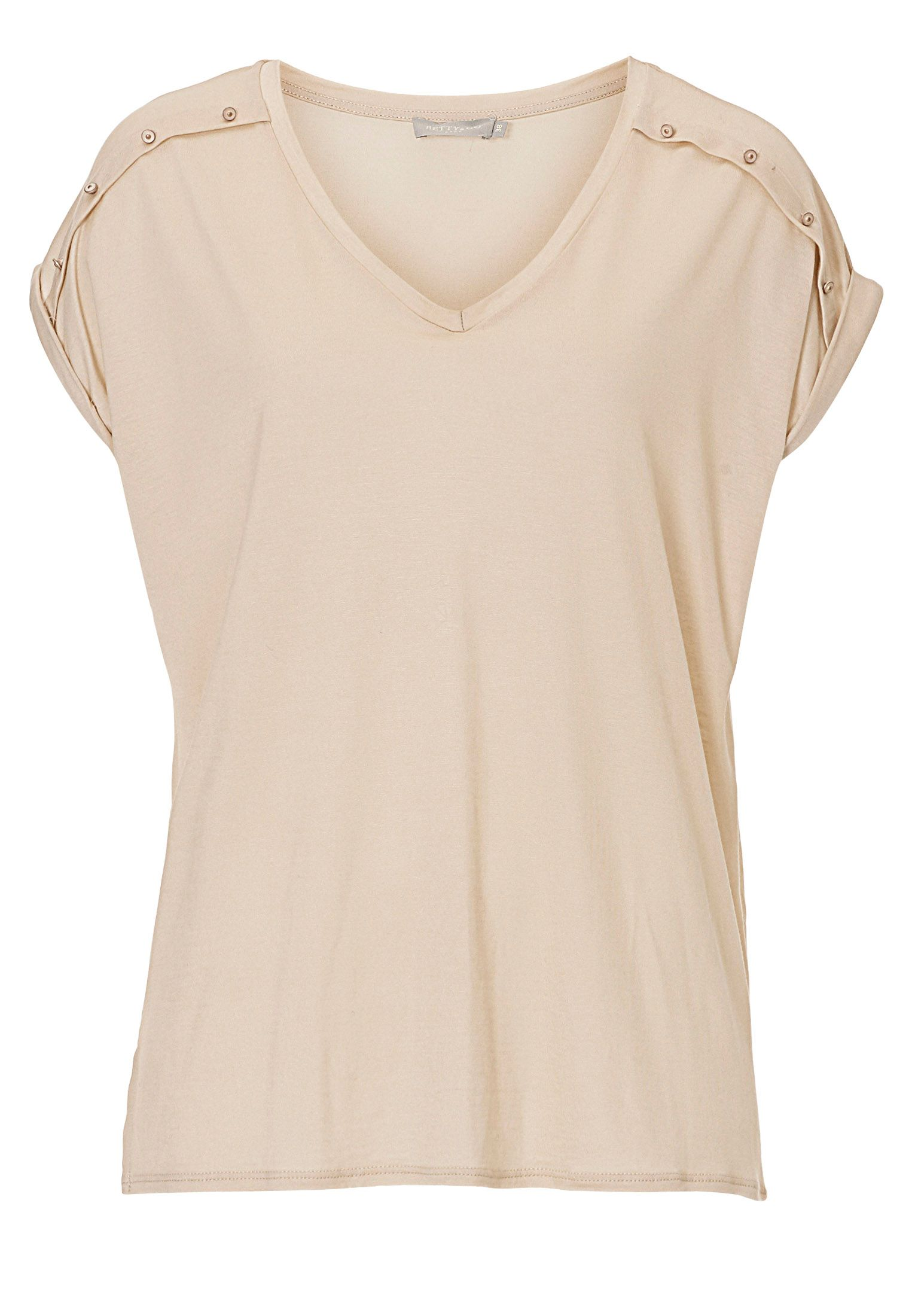 Betty & Co. V-neck top, Cream