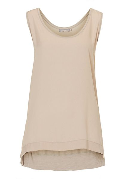 Betty & Co. Long vest top