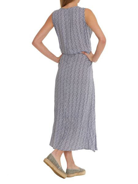 Betty & Co. Printed maxi dress