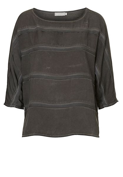 Betty & Co. Three-quarter sleeved panelled top