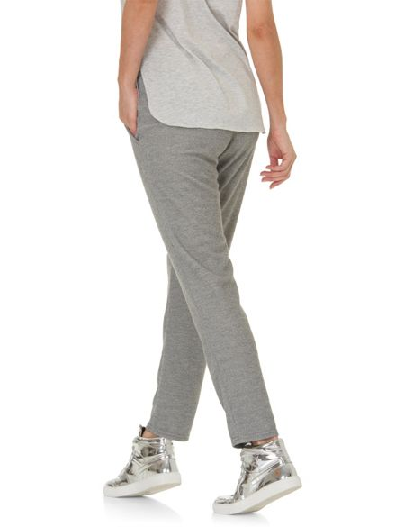 Betty & Co. Loose fit textured trousers