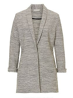 Knitted cardigan jacket
