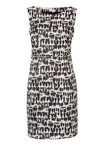 Betty & Co. Printed shift dress