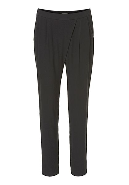Betty & Co. Crêpe loose fit trousers