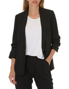 Betty & Co. Crêpe tailored jacket.
