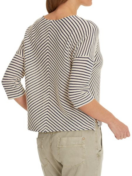 Betty & Co. Chevron striped top