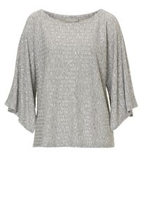 Betty & Co. Textured fine knit top