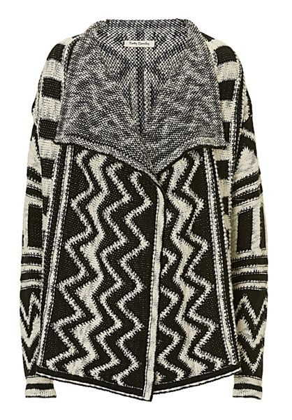 Betty Barclay Monochrome knitted cardigan