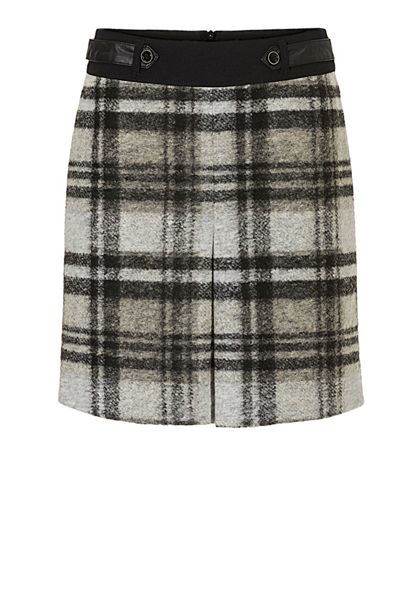 Betty Barclay A-line check skirt
