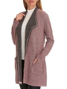 Betty Barclay Long textured cardigan