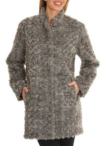 Betty Barclay Faux fur coat