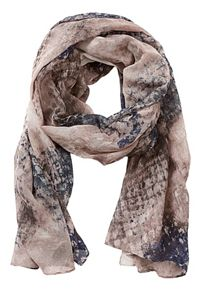 Betty Barclay Long snake print scarf