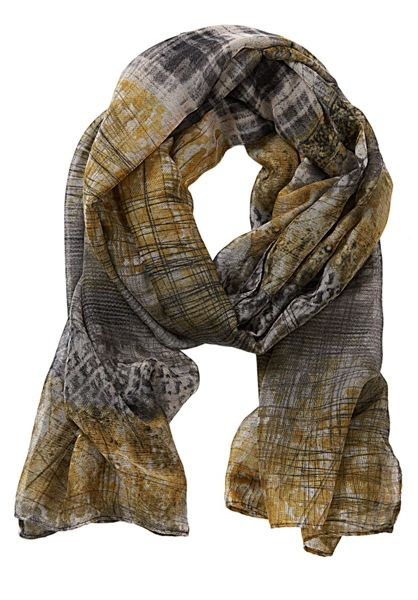 Betty Barclay Long printed scarf