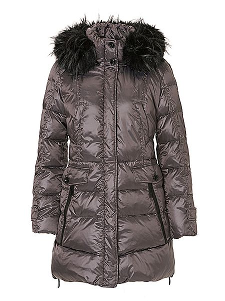 betty barclay hooded puffer jacket bronze house of fraser. Black Bedroom Furniture Sets. Home Design Ideas