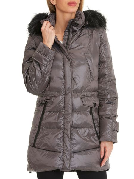 Betty Barclay Hooded puffer jacket