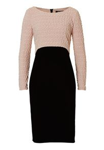 Vera Mont Textured and jersey dress