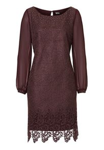 Vera Mont Web effect lace dress