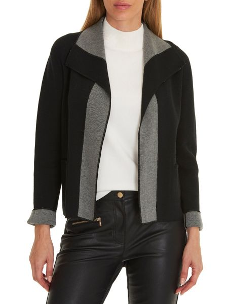 Betty Barclay Reversible knit jacket