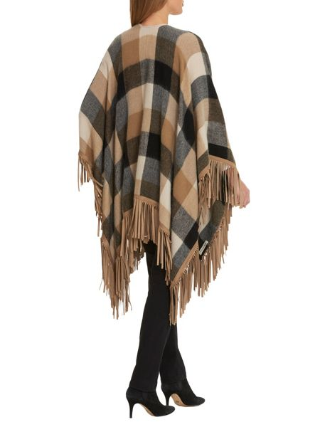 Betty Barclay Fringed poncho