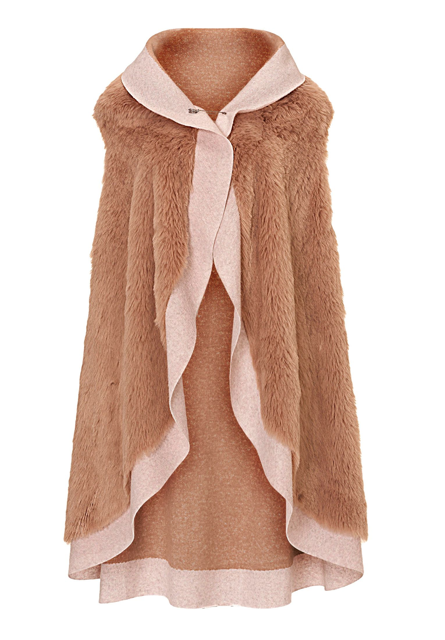 Betty Barclay Faux fur gilet, Pink