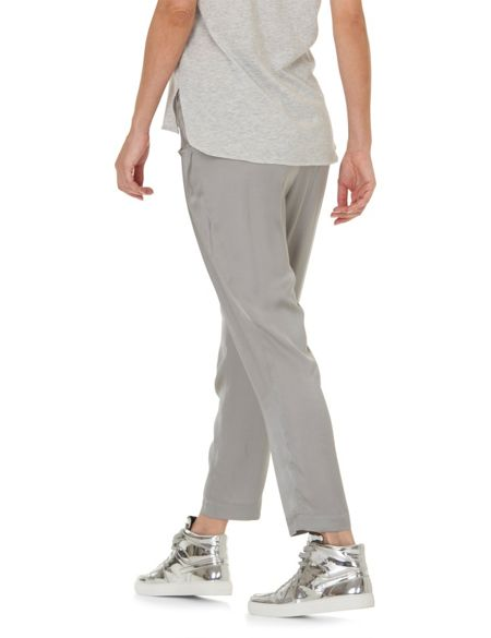 Betty & Co. Satin loose fit trousers