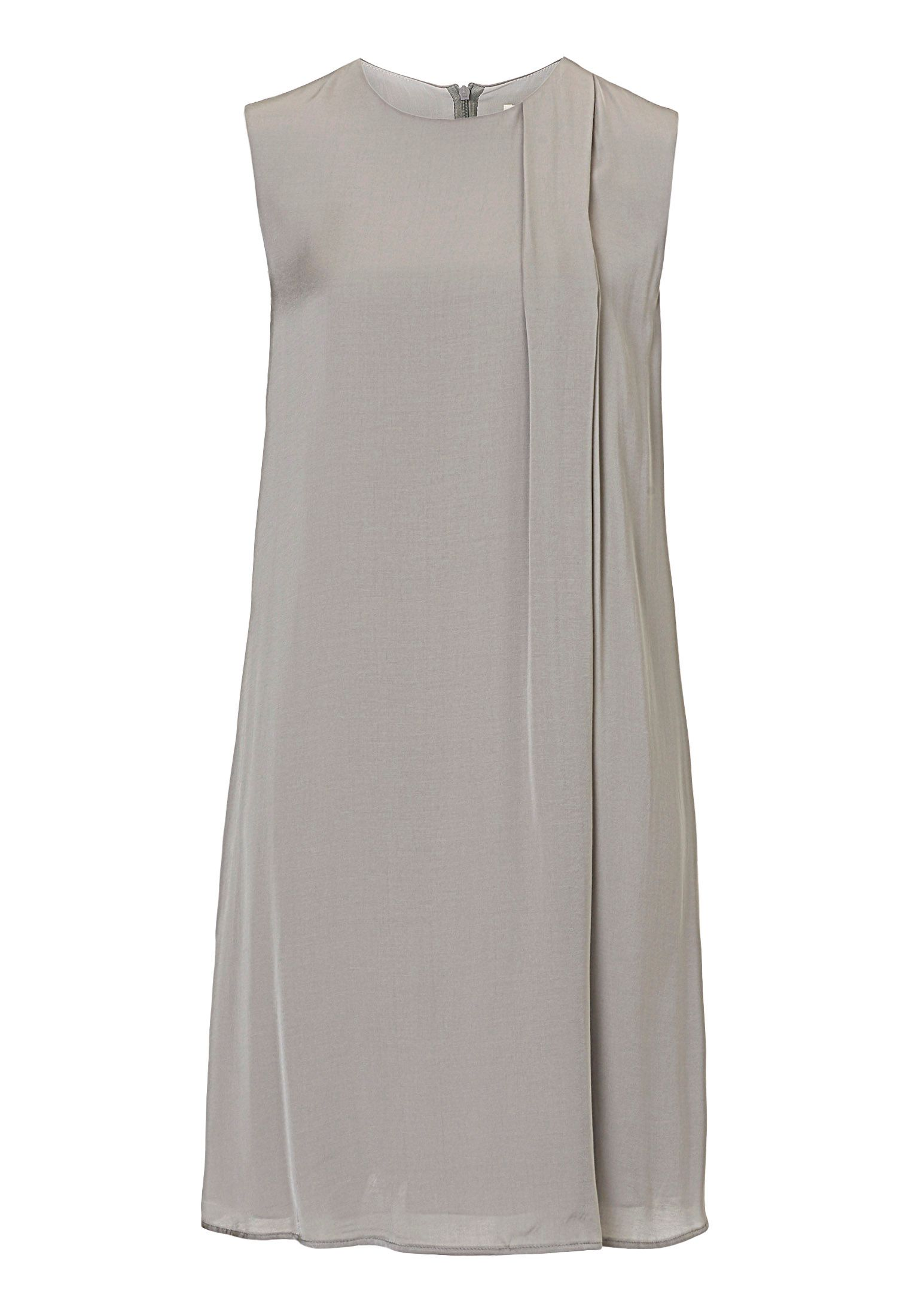 Betty & Co. Satin shift dress, Grey