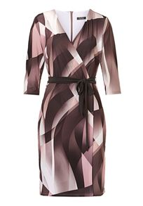Vera Mont Wrap dress with waist tie