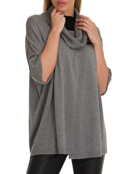 Betty Barclay Oversize wrapped jumper