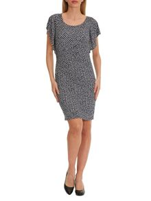 Vera Mont Printed batwing dress